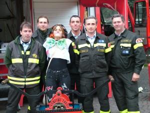 Voglio fare il pompiere
